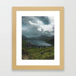 Fuglafjørður Framed Art Print