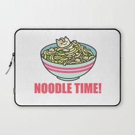 I Love Noodle Kawaii Artwork Laptop Sleeve