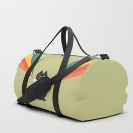 Ray gun cat Duffle Bag