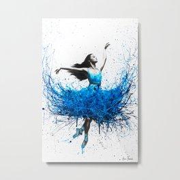Ocean Ballet Metal Print