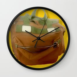 Happy Bag Wall Clock