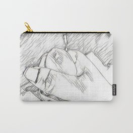 Hand Love Carry-All Pouch