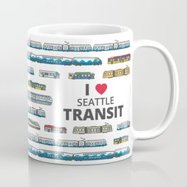 The Transit of Greater Seattle Coffee Mug