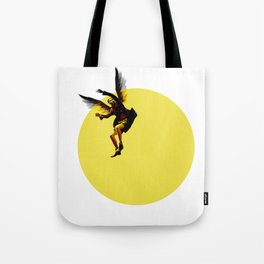 Icarian Fall#3: TheSunThatMelted Tote Bag