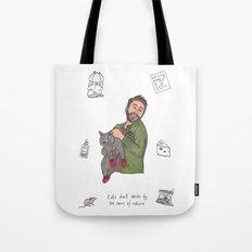 Charlie Kitten Mittens Tote Bag