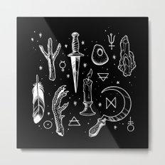 Accoutrements BLACK Metal Print