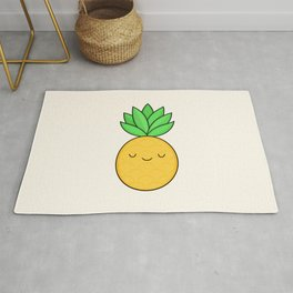 Happy Pineapple Rug