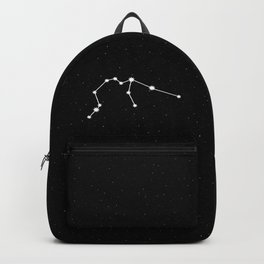 Aquarius Astrology Star Sign Backpack
