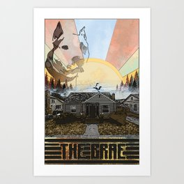 Humboldt Burrows: The Brae Art Print