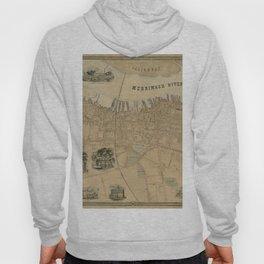 Map of Newburyport 1851 Hoody