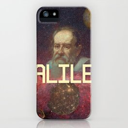 Visions of Galileo iPhone Case