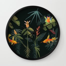 Fantasy creatures Wall Clock