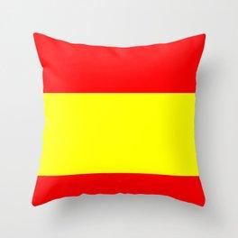 Flag of spain 4-spain,espana, spanish,plus ultra,espanol,Castellano,Madrid,Barcelona Throw Pillow