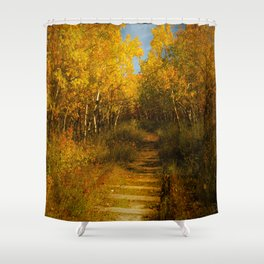 Old Spur Line Shower Curtain