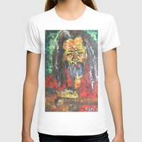 rasta T-shirts featuring Rasta Man by sladja