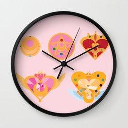 Moon Power! Wall Clock