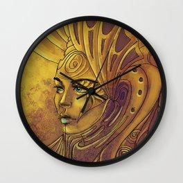 Woman in Kosovo Wall Clock