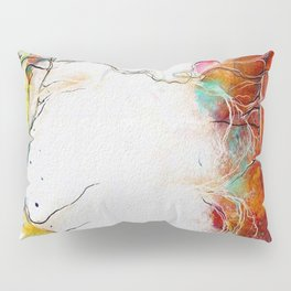 Eye Contact Pillow Sham