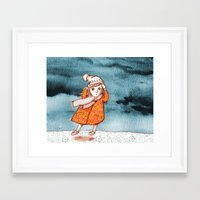 storm Framed Art Prints featuring Storm by Alibabaform