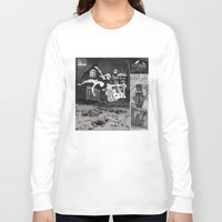 tape Long Sleeve T-shirts featuring Tape by Young Weirdos Guild