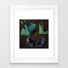 God is Dead Framed Art Print