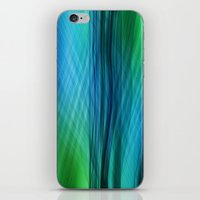data iPhone & iPod Skins featuring data flow by hannes cmarits (hannes61)