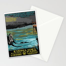 National Parks 2050: Everglades Stationery Cards
