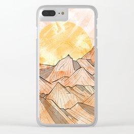 Sandy Shores Clear iPhone Case
