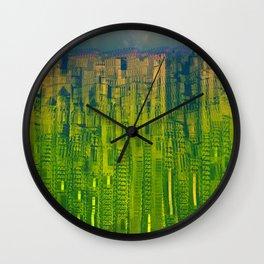 Kryptonic Place / Urban 25-12-16 Wall Clock