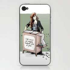 Comme une rengaine... iPhone & iPod Skin