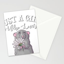 Rat Gift Stationery Cards