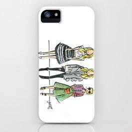 Fashion Illo Trio iPhone Case