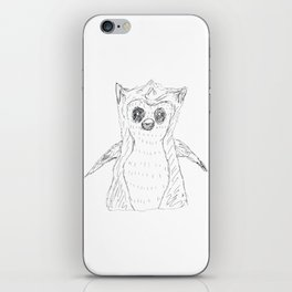 Funny baby Owl iPhone Skin