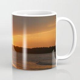 Sunset Over The Waterway Coffee Mug