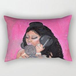 Baddie B Nicki Rectangular Pillow