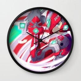 Sword Red Zero Wall Clock