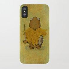 Hirsute Viking Homunculus iPhone X Slim Case