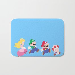 Mario Party Bath Mat