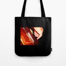 Flamenco Guitar Fingers Tote Bag