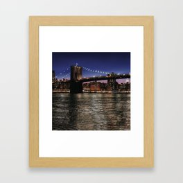 A Brooklyn Point of View Framed Art Print