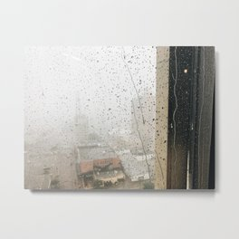 Hold the Rain Metal Print