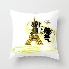 Son Paris 1.4 Throw Pillow