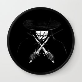 V for Vendetta (e7) Wall Clock