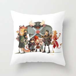 Dungeons and Dragons Throw Pillow