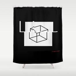 F+. Shower Curtain
