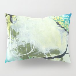 Everglades - Square Abstract Expressionism Pillow Sham