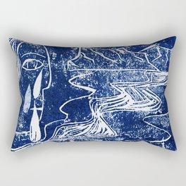 Buryat fairy tale Rectangular Pillow