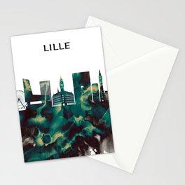 Lille Skyline Stationery Cards