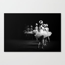Little Ballerinas Canvas Print