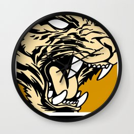 MASSILLON TIGER Wall Clock